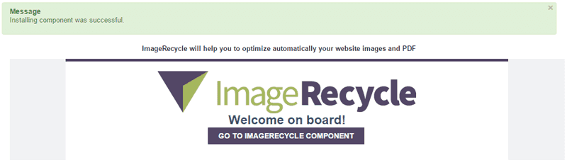 joomla image optimizer install